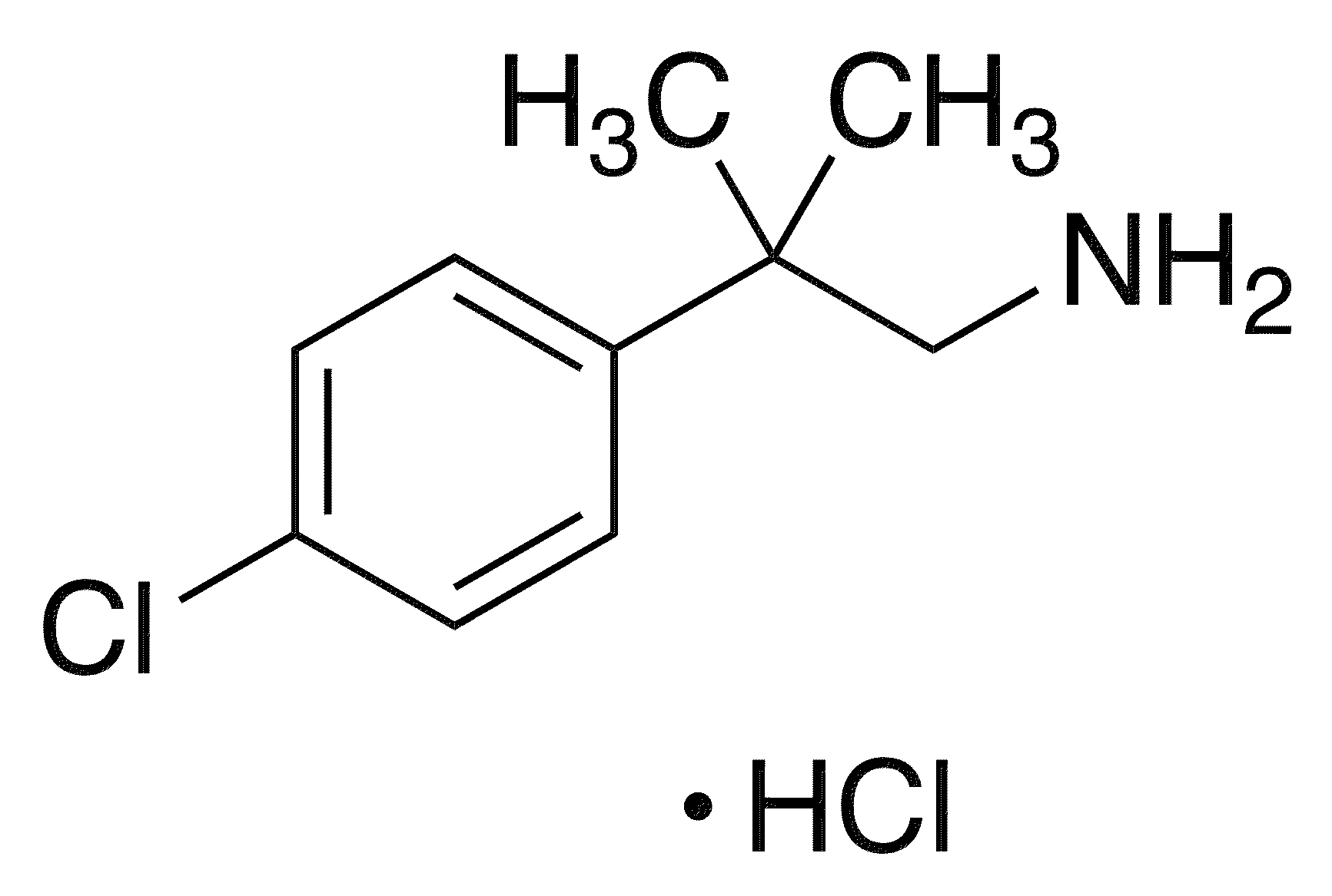 2-(4-Chlorophenyl)-2-methylpropylamine Hydrochloride