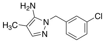 1-(3-Chlorobenzyl)-4-methyl-1H-pyrazol-5-amine