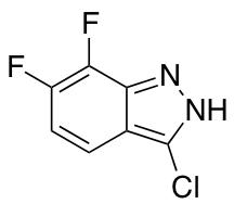 6,7-Difluoro-3-chloro (1H)indazole