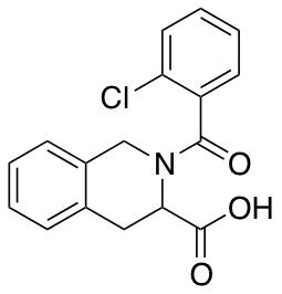 2-(2-Chlorobenzoyl)-1,2,3,4-tetrahydroisoquinoline-3-carboxylic Acid