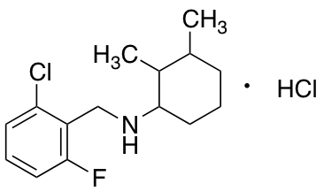 N-[(2-Chloro-6-fluorophenyl)methyl]-2,3-dimethylcyclohexan-1-amine Hydrochloride