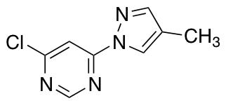 4-Chloro-6-(4-methyl-1H-pyrazol-1-yl)pyrimidine