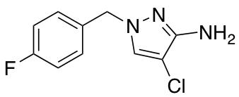 4-Chloro-1-(4-fluorobenzyl)-1H-pyrazol-3-amine