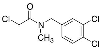 2-Chloro-N-[(3,4-dichlorophenyl)methyl]-N-methylacetamide