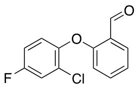 2-(2-Chloro-4-fluorophenoxy)benzaldehyde