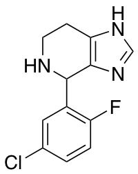 4-(5-Chloro-2-fluorophenyl)-4,5,6,7-tetrahydro-3H-imidazo[4,5-c]pyridine
