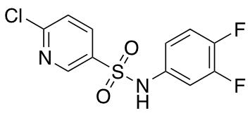 6-Chloro-N-(3,4-difluorophenyl)pyridine-3-sulfonamide