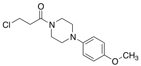 3-Chloro-1-[4-(4-methoxyphenyl)piperazin-1-yl]propan-1-one