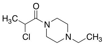 2-Chloro-1-(4-ethylpiperazin-1-yl)propan-1-one