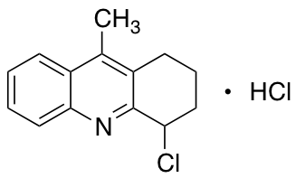 4-Chloro-9-methyl-1,2,3,4-tetrahydroacridine Hydrochloride