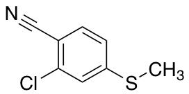 2-Chloro-4-(methylsulfanyl)benzonitrile