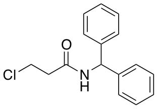 3-Chloro-N-(diphenylmethyl)propanamide