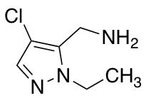 (4-Chloro-1-ethyl-1H-pyrazol-5-yl)methylamine