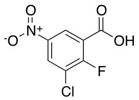 3-Chloro-2-fluoro-5-nitrobenzoic Acid
