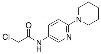 2-Chloro-N-[6-(piperidin-1-yl)pyridin-3-yl]acetamide