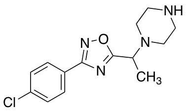 1-{1-[3-(4-Chlorophenyl)-1,2,4-oxadiazol-5-yl]ethyl}piperazine