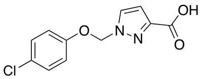 1-[(4-Chlorophenoxy)methyl]-1H-pyrazole-3-carboxylic Acid