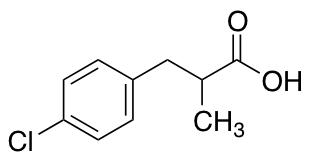 3-(4-Chlorophenyl)-2-methylpropanoic Acid