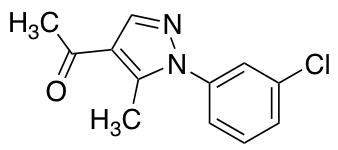 1-[1-(3-Chlorophenyl)-5-methyl-1H-pyrazol-4-yl]ethan-1-one