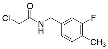 2-Chloro-N-[(3-fluoro-4-methylphenyl)methyl]acetamide