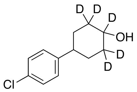 4-(4-Chlorophenyl)cyclohexanol-d5