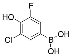 3-Chloro-5-fluoro-4-hydroxyphenylboronic Acid