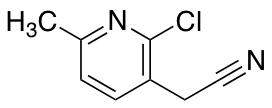 2-Chloro-6-methylpyridine-3-acetonitrile