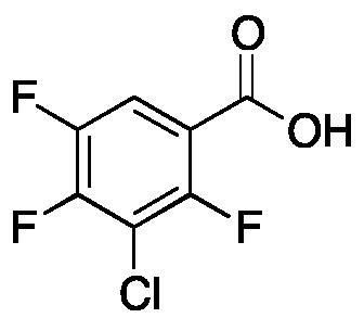 3-Chloro-2,4,5-trifluorobenzoic Acid