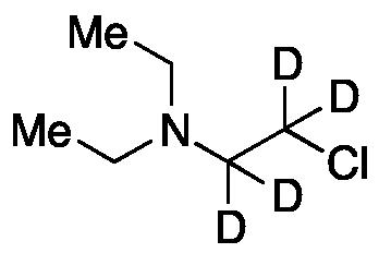 2-Chloro-N,N-diethylethyl-d4-amine