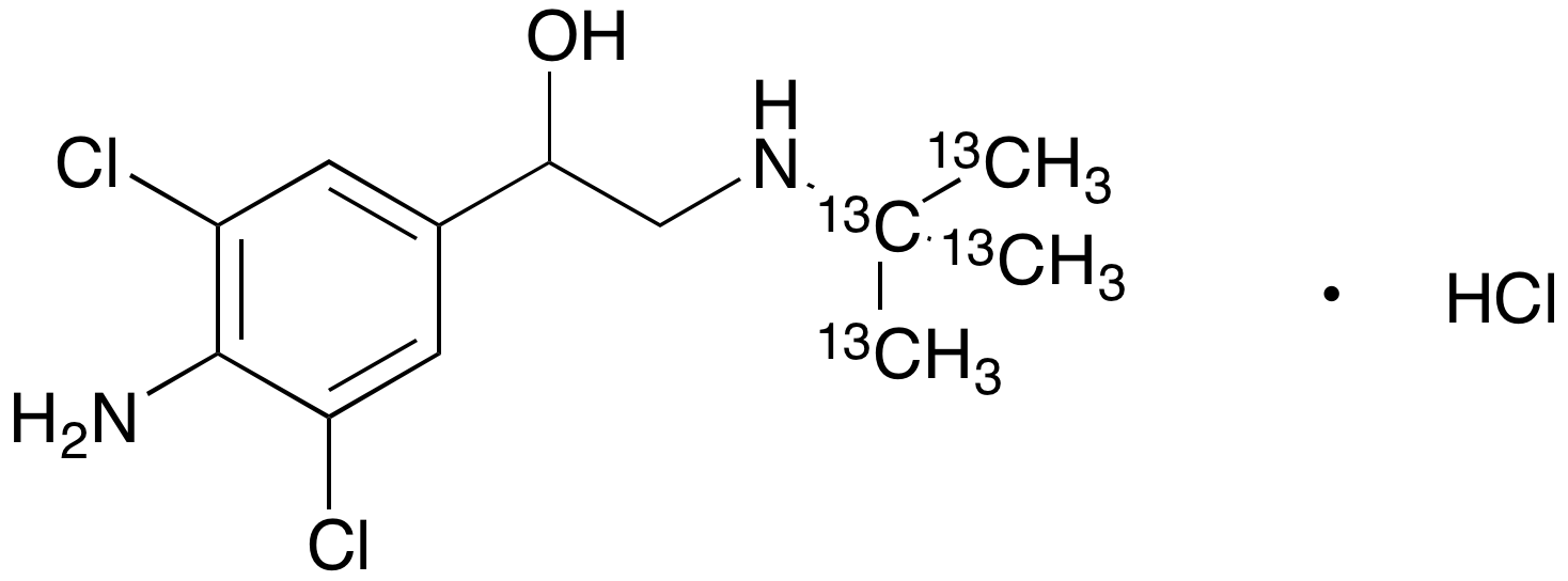 Clenbuterol-13C4 Hydrochloride