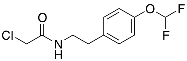 2-Chloro-N-{2-[4-(Difluoromethoxy)Phenyl]Ethyl}Acetamide