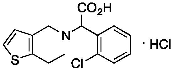 rac-Clopidogrel Carboxylic Acid Hydrochloride