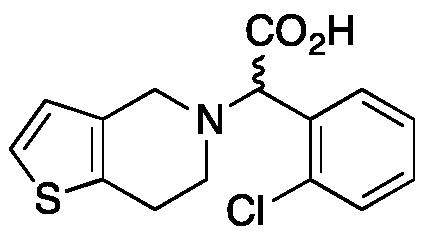 rac-Clopidogrel Carboxylic Acid