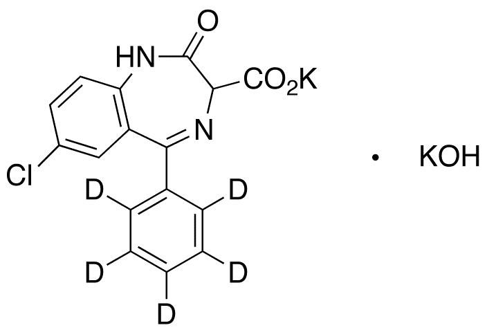Clorazepate-d5 Dipotassium