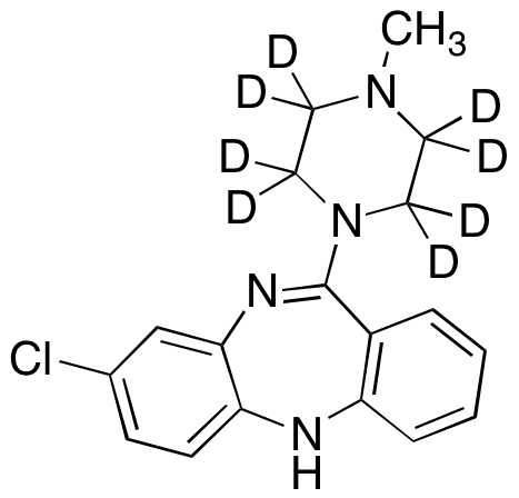 Clozapine-d8