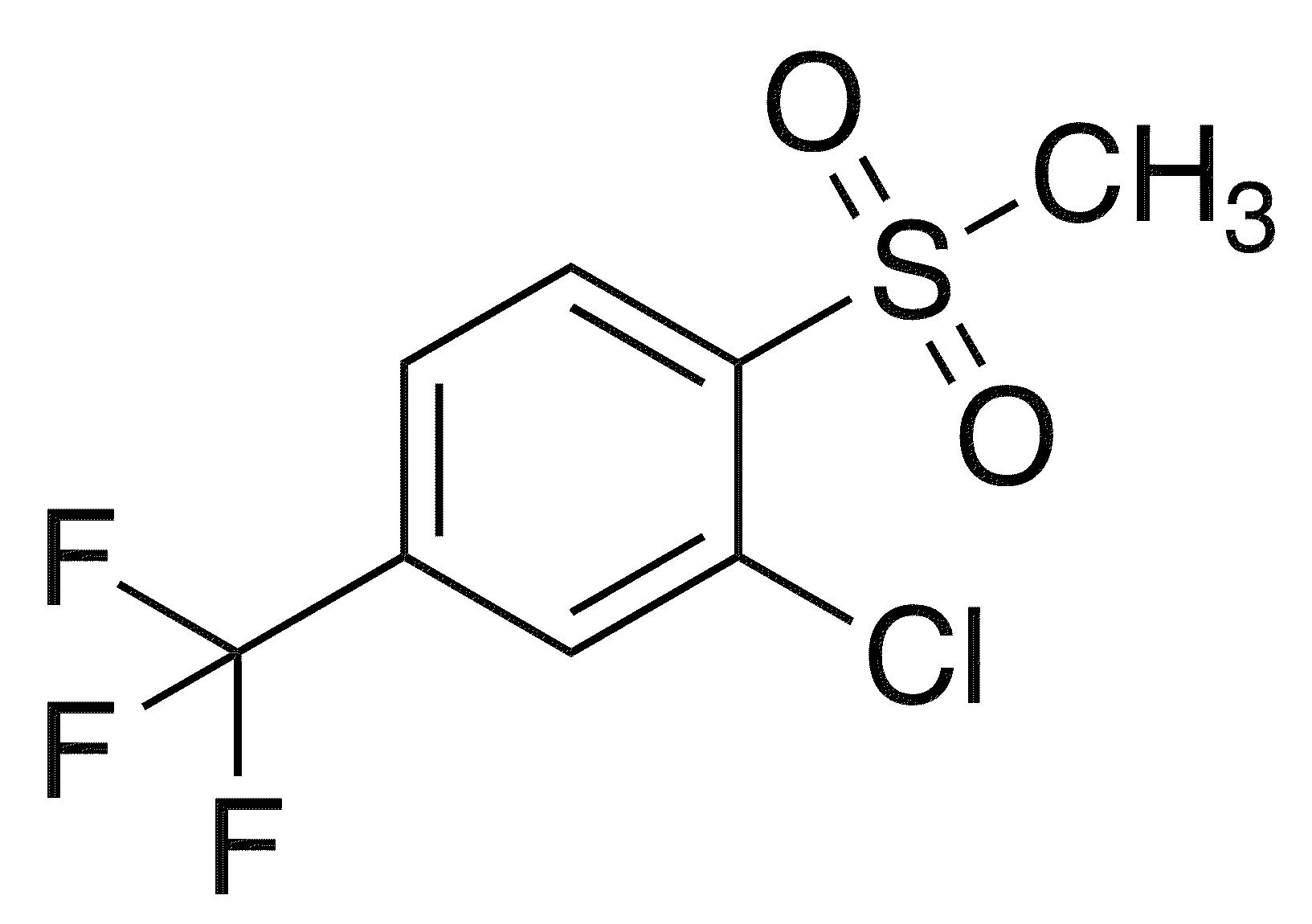2-Chloro-1-methanesulfonyl-4-(trifluoromethyl)benzene