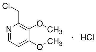2-(Chloromethyl)-3,4-dimethoxypyridine HydrochlorideDiscontinue; See C369170