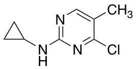 4-Chloro-N-cyclopropyl-5-methylpyrimidin-2-amine