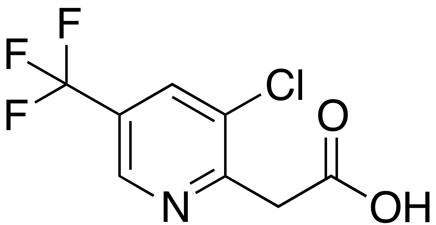 2-(3-Chloro-5-(trifluoromethyl)pyridin-2-yl)acetic Acid