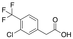 3-Chloro-4-(trifluoromethyl)phenylacetic Acid