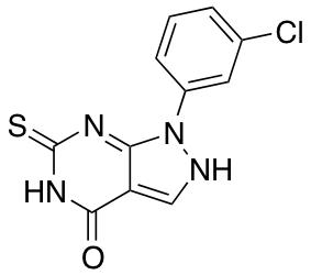 1-(3-Chlorophenyl)-6-sulfanyl-1H,4H,5H-pyrazolo[3,4-d]pyrimidin-4-one