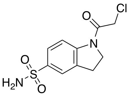 1-(2-Chloroacetyl)-2,3-dihydro-1H-indole-5-sulfonamide