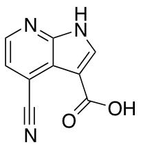 4-Cyano-7-azaindole 3-Carboxylic Acid