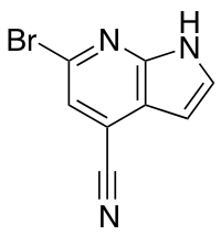 4-Cyano-6-bromo-7-azaindole