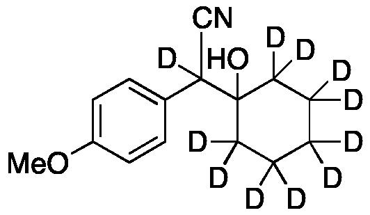 1-(Cyano-(4-methoxyphenyl)ethyl)cyclohexanol-d11
