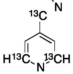 4-Cyanopyridine-13C3