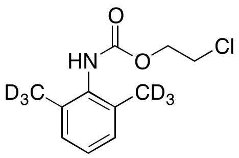2-Chloroethyl (2,6-Dimethylphenyl)-carbamic Acid Ester-d6