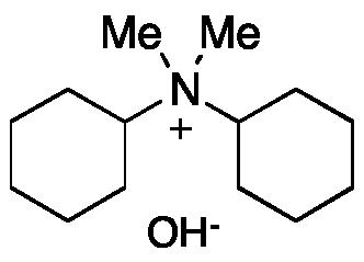 N-Cyclohexyl-N,N-dimethyl-cyclohexanaminium Hydroxide