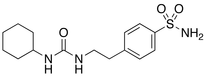 1-Cyclohexyl-3-(p-sulfamoylphenethyl)urea