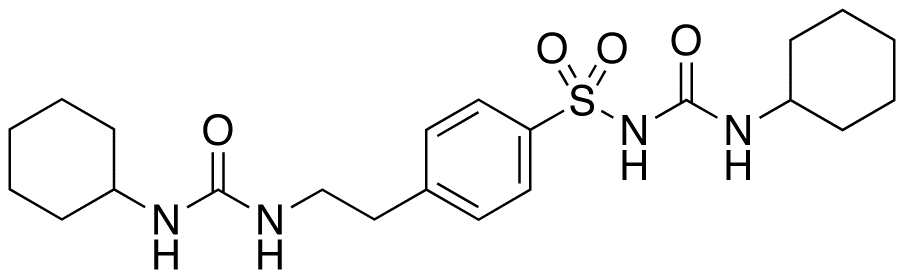 N-[4-(-Cyclohexylureidoethyl)benzensulfonyl] N-Cyclohexylurea